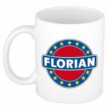 Feest namen koffiemok theebeker florian 300 ml