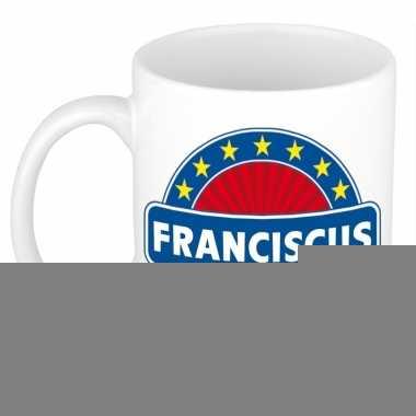 Feest namen koffiemok theebeker franciscus 300 ml