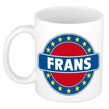 Feest namen koffiemok theebeker frans 300 ml