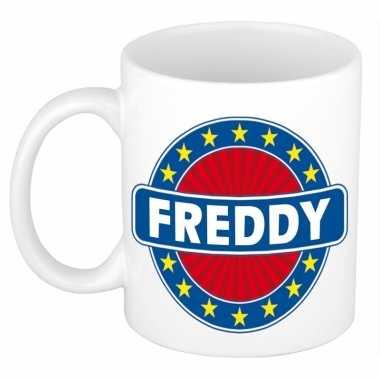 Feest namen koffiemok theebeker freddy 300 ml