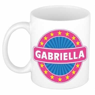 Feest namen koffiemok theebeker gabriella 300 ml