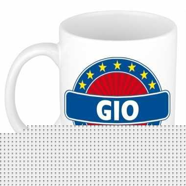 Feest namen koffiemok theebeker gio 300 ml