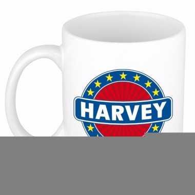 Feest namen koffiemok theebeker harvey 300 ml