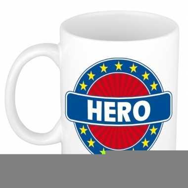 Feest namen koffiemok theebeker hero 300 ml