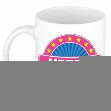 Feest namen koffiemok theebeker hetty 300 ml