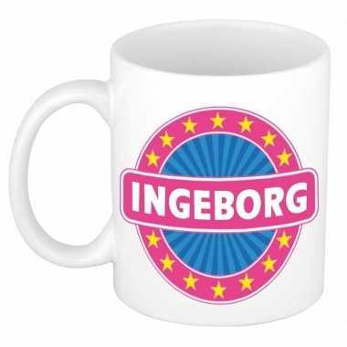 Feest namen koffiemok theebeker ingeborg 300 ml