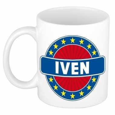 Feest namen koffiemok theebeker iven 300 ml