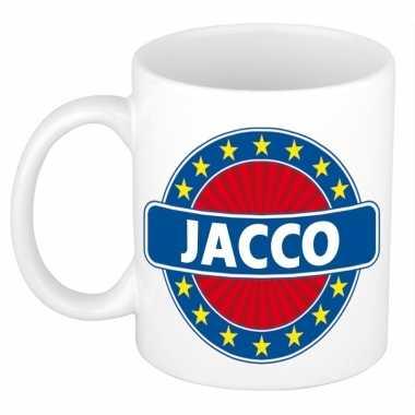 Feest namen koffiemok theebeker jacco 300 ml