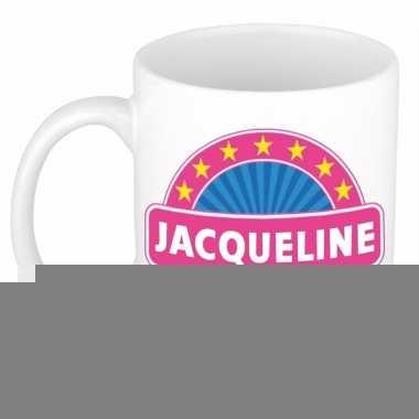 Feest namen koffiemok theebeker jacqueline 300 ml