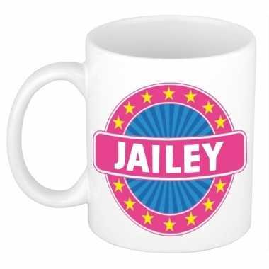 Feest namen koffiemok theebeker jailey 300 ml