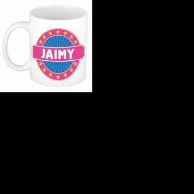 Feest namen koffiemok theebeker jaimy 300 ml 10109058