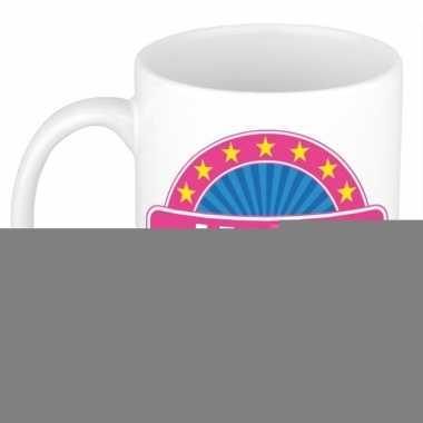 Feest namen koffiemok theebeker janet 300 ml