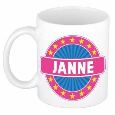 Feest namen koffiemok theebeker janne 300 ml