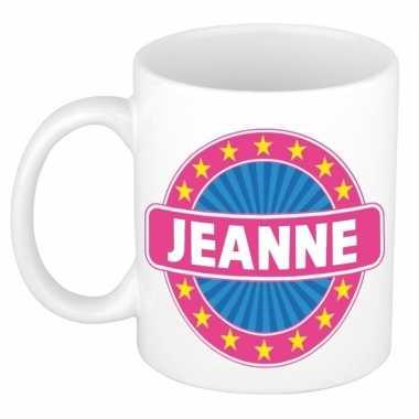Feest namen koffiemok theebeker jeanne 300 ml