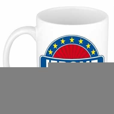 Feest namen koffiemok theebeker jerome 300 ml