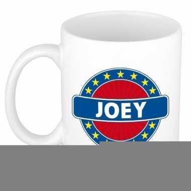 Feest namen koffiemok theebeker joey 300 ml