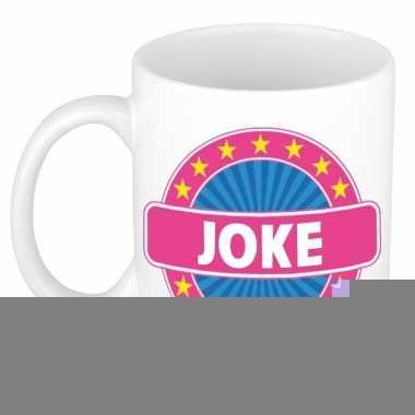 Feest namen koffiemok theebeker joke 300 ml