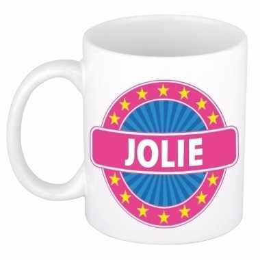 Feest namen koffiemok theebeker jolie 300 ml
