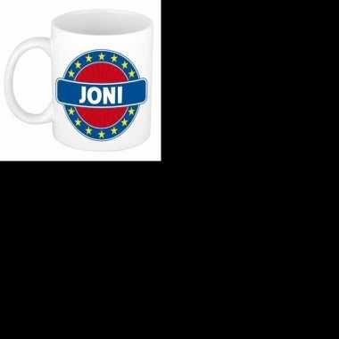 Feest namen koffiemok theebeker joni 300 ml