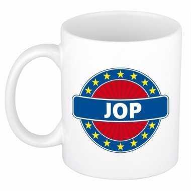 Feest namen koffiemok theebeker jop 300 ml