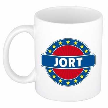 Feest namen koffiemok theebeker jort 300 ml