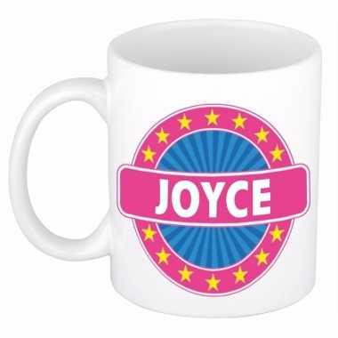 Feest namen koffiemok theebeker joyce 300 ml