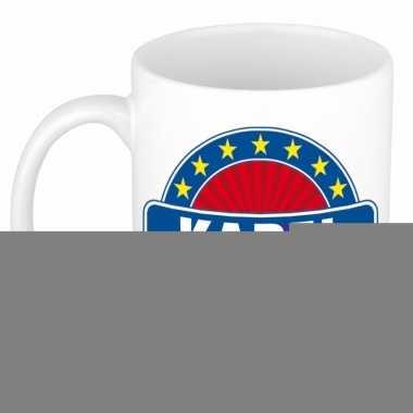 Feest namen koffiemok theebeker karel 300 ml