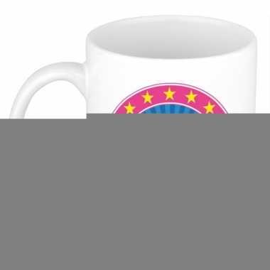 Feest namen koffiemok theebeker kathelijne 300 ml