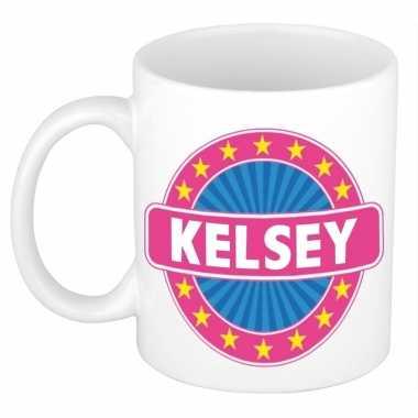 Feest namen koffiemok theebeker kelsey 300 ml