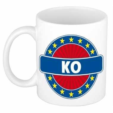 Feest namen koffiemok theebeker ko 300 ml
