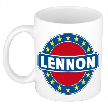 Feest namen koffiemok theebeker lennon 300 ml