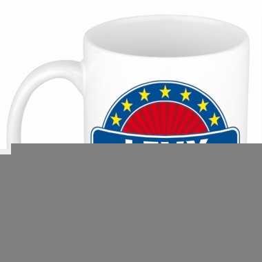 Feest namen koffiemok theebeker levy 300 ml