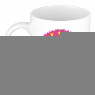 Feest namen koffiemok theebeker lily 300 ml