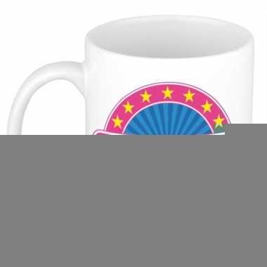 Feest namen koffiemok theebeker lisette 300 ml