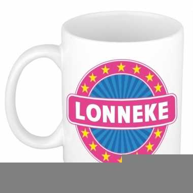 Feest namen koffiemok theebeker lonneke 300 ml