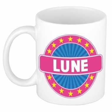 Feest namen koffiemok theebeker lune 300 ml