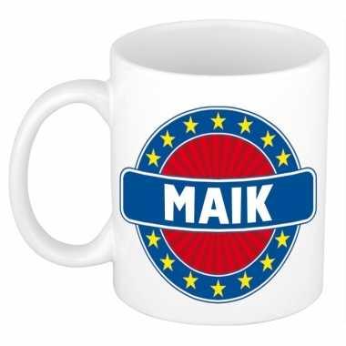 Feest namen koffiemok theebeker maik 300 ml