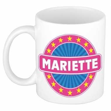 Feest namen koffiemok theebeker mariette 300 ml
