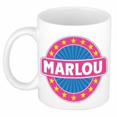 Feest namen koffiemok theebeker marlou 300 ml