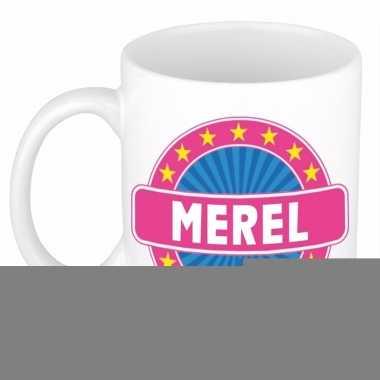 Feest namen koffiemok theebeker merel 300 ml