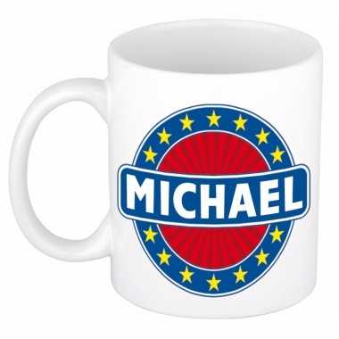 Feest namen koffiemok theebeker michael 300 ml