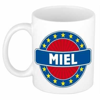 Feest namen koffiemok theebeker miel 300 ml