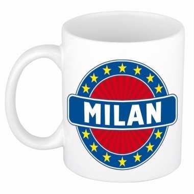 Feest namen koffiemok theebeker milan 300 ml