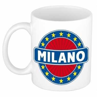 Feest namen koffiemok theebeker milano 300 ml