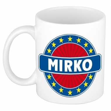 Feest namen koffiemok theebeker mirko 300 ml
