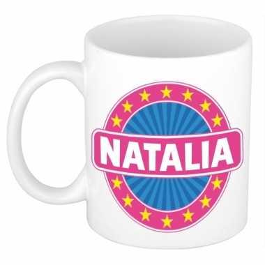Feest namen koffiemok theebeker natalia 300 ml