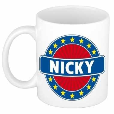 Feest namen koffiemok theebeker nicky 300 ml