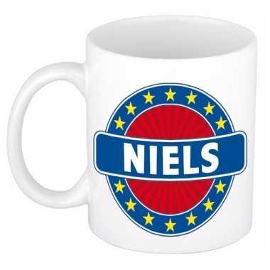 Feest namen koffiemok theebeker niels 300 ml