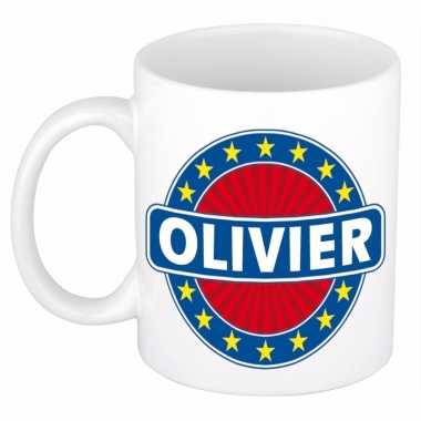 Feest namen koffiemok theebeker olivier 300 ml
