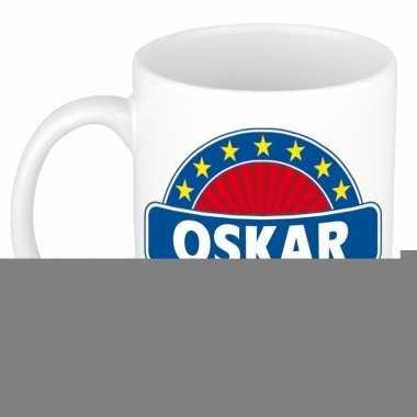 Feest namen koffiemok theebeker oskar 300 ml
